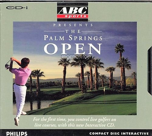Philips CD-i Disc Interactive Video Game The Palm Springs Open Golf [ISO]
