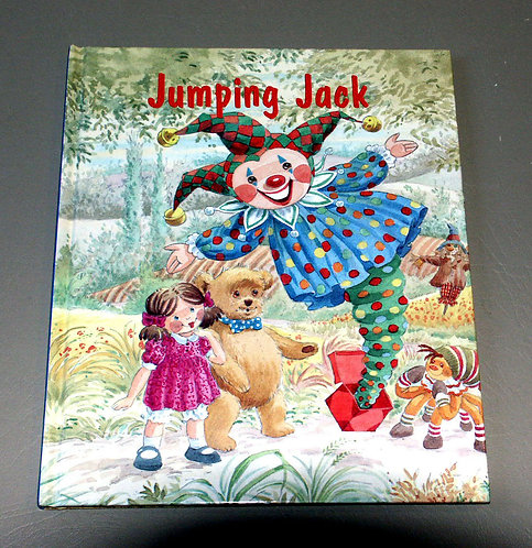 Jumping Jack by Geoffrey Alan & Angela Mills (Now You Can Read Story Books) (HC)