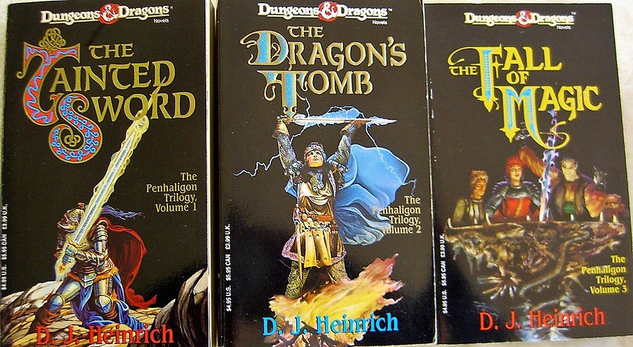 Dungeons & Dragons Novels: The Penhaligon Trilogy [eBook Set]