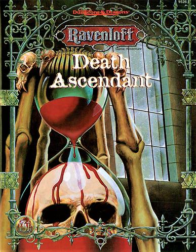 AD&D Ravenloft RPG Adventure - Death Ascendant [eBook]