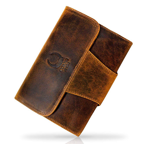"""Genuine Distressed Leather Cover for Apple iPad Mini 1 2 3 4 or 7.9"""" Tablet"""