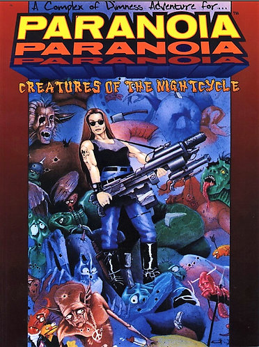 Creatures of the Nightcycle (Paranoia RPG West End Games) by Jennifer Brandes