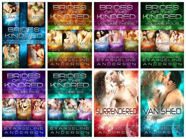 Brides of the Kindred (24 Volume Complete Series) by Evangeline Anderson [eBook]