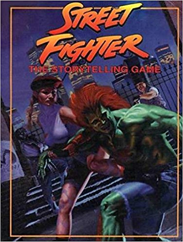 Street Fighter: The Storytelling Game (RPG Main Rulebook Core Guide) [PDF]