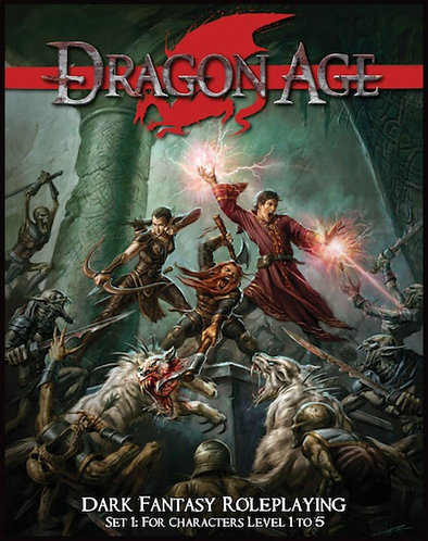 Dragon Age Player's & Masters Guide | Dark Fantasy Role Playing Game Set [eBook]
