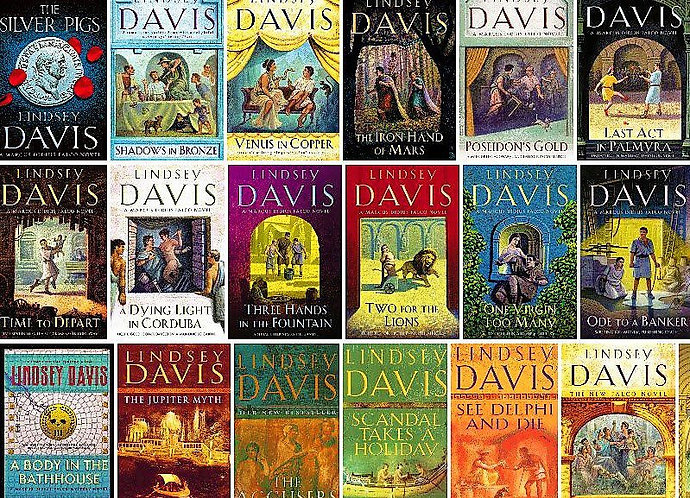 The Complete Marcus Didius Falco Series [eBook] by Lindsey Davis (Vols 1-21)