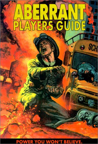 Aberrant Players Guide (White Wolf 8505) RPG Fantasy Game Manual Rulebook [PDF]