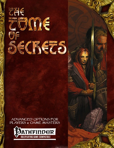 Tome of Secrets by Cubicle 7 (Pathfinder RPG System Adventure Rules) [PDF]