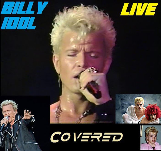 Billy Idol - Covered (Rare Cover Tracks Compilation Album) [MP3 320]