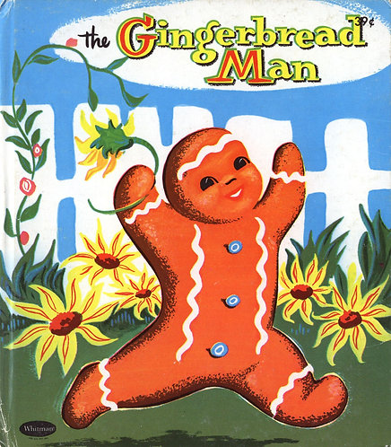 The Gingerbread Man (Whitman Tell-A-Tale) (1958) Pictures by Sari [eBook]