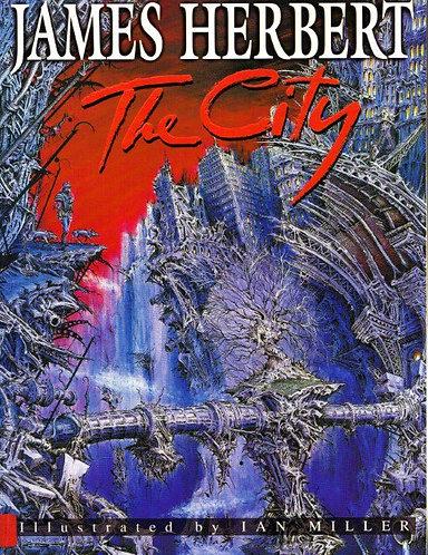 The City (Rats #4 Graphic Novel) by James Herbert & Ian Miller