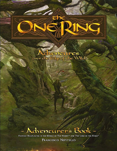 The One Ring Adventures & Loremaster's Books Over the Edge of the Wild [RPG Box]