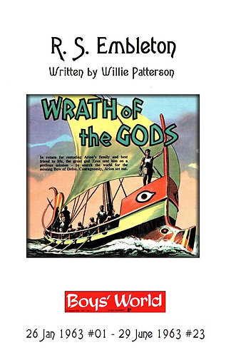 Wrath of the Gods by William Patterson [eBook] Jeff Hawke Sci Fi Graphic Novel