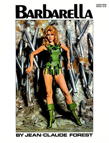 Barbarella by Jean-Claude Forest (1968) Graphic Novel [PDF]