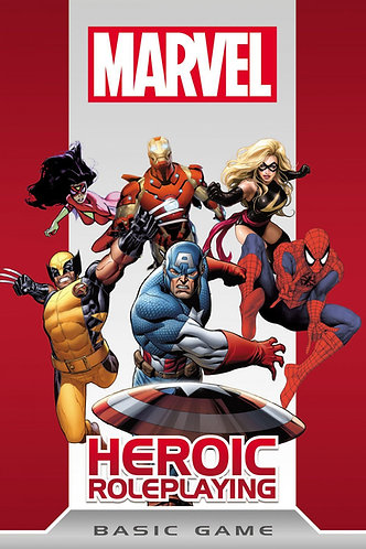 Marvel Heroic Roleplaying Basic Game [RPG Core Rules Guide] Cortex Plus
