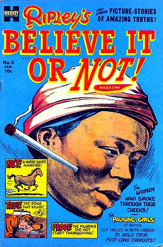 Ripley's Believe It or Not - Volume 3 | Comic Book Magazine (1954) [PDF]