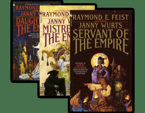 Riftwar Cycle: The Empire Trilogy (3 Volume Series) by Raymond E. Feist [eBook]