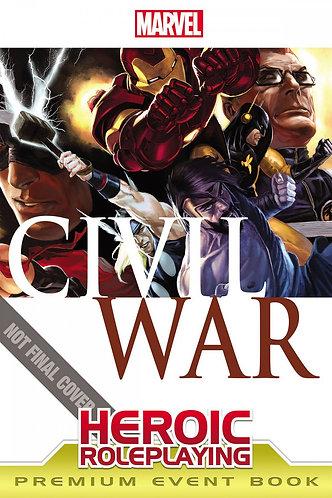 Marvel Heroic Roleplaying: Civil War Event Book Premium Edition [RPG] [PDF]