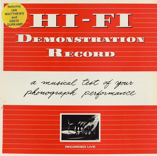 HI-FI - Demonstration Record (1982) E.P Butt Records Ian Mathews & David Surkamp