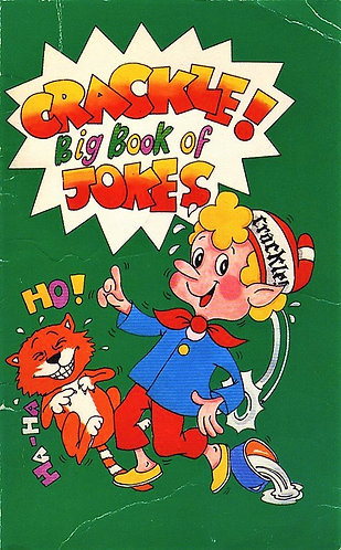 Kellog's Rice Krispies presents Crackle's Big Book of Jokes (1982) by Toyforce