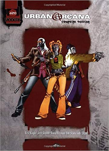 Urban Arcana Campaign Setting (d20 Modern) Role Playing Game RPG Adventure [PDF]