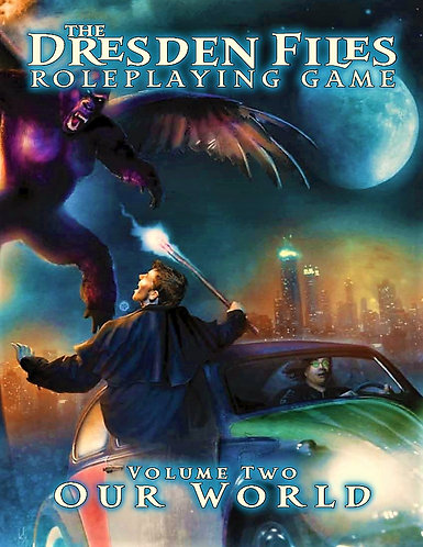 The Dresden Files RPG: Your Story (Volume 1) Role Playing Game Adventure Guide