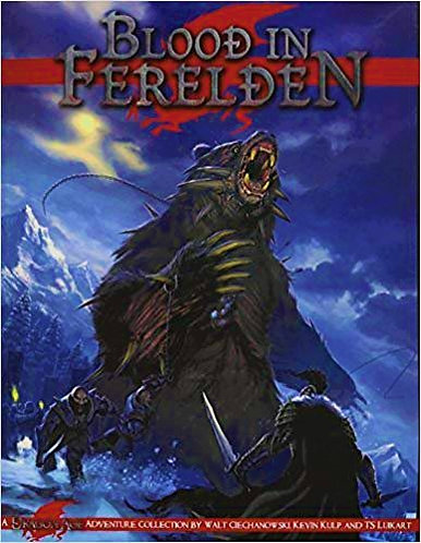 Dragon Age: Blood in Ferelden [Role Playing Game Adventure Module] [PDF]