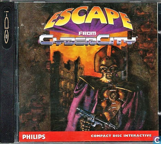 Philips CD-i Disc Interactive Video Game Escape From Cyber City [ISO Download]