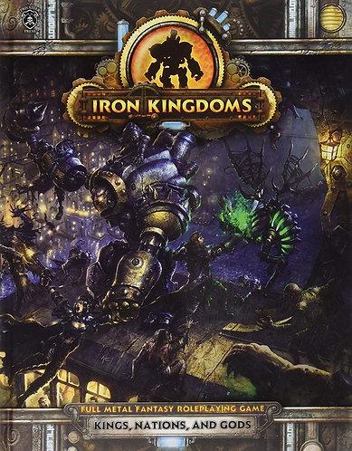 Iron Kingdoms: Full Metal Fantasy RPG Playset - Kings, Nations & Gods [PDF]