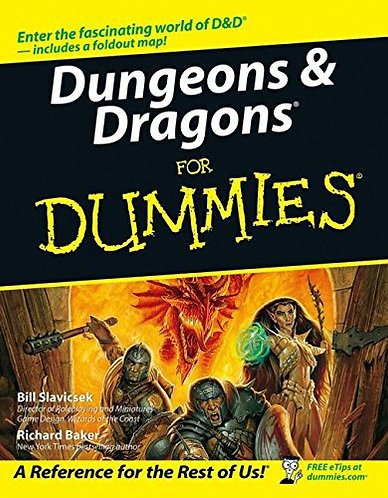 Dungeons & Dragons For Dummies a Simple Guide to Understanding & Playing [eBook]