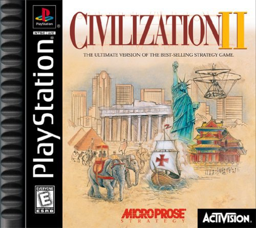 Civilization II (2) PlayStation One 1 (PS1) Video Game by Activision [ISO]