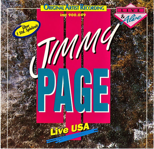 Jimmy Page Live & Alive in the USA (1988) [Download]