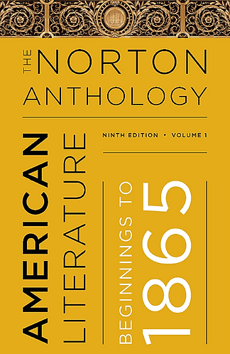 The Norton Anthology of American Literature (9e) (Volume I: A & B) [Digital]