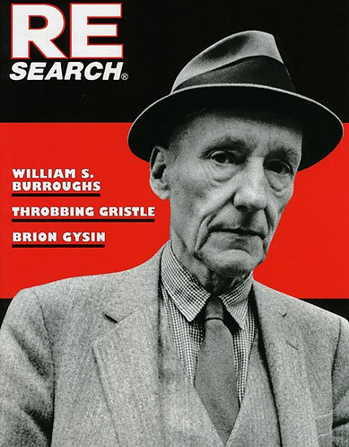 Research No. 4/5 (1982) A Special Book Issue William Burroughs Throbbing Gristle