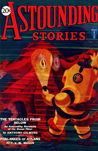 Astounding Stories - February 1931 (VOL.V No.2) Vintage Sci-Fi Fantasy Magazine