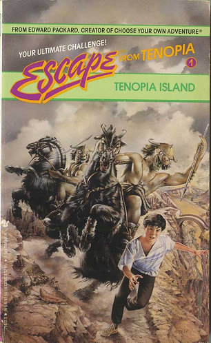 The Complete Escape from Tenopia Series (1-4) by Edward Packard - Island [eBook]