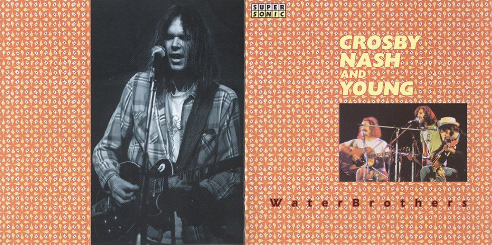 Crosby, Nash and Neil Young Live @ Hongisto Concert, Winterland 1972 [MP3 320]