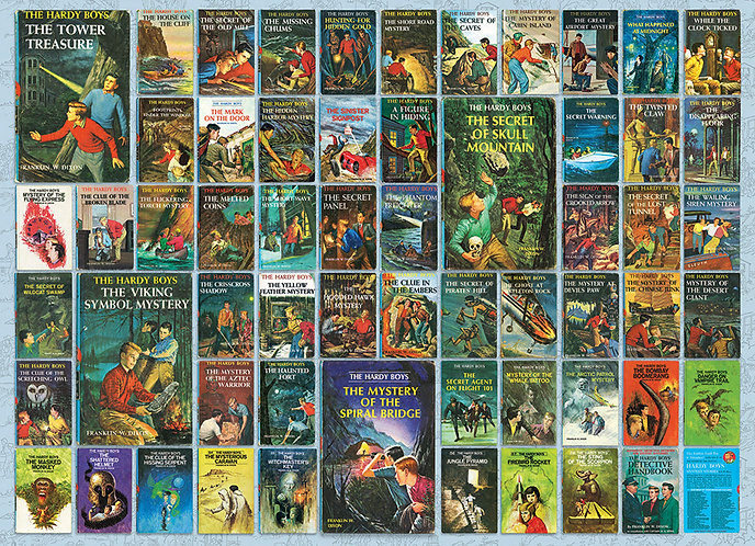 The Collected [Digital] Works of The Hardy Boys (Volumes 1-190) Franklin W Dixon