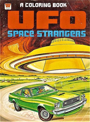 UFO Space Strangers - Vintage Comic Coloring Book (Whitman 1978) [PDF]