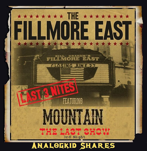 Mountain - (True) Closing Of The Fillmore East (1971) [MP3 320] Band Live Album