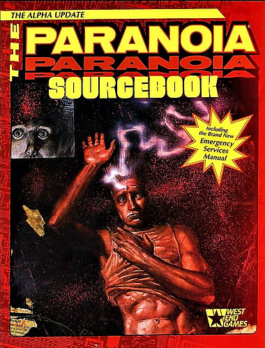 Paranoia Sourcebook: The Alpha Update by Ed Bolme (Role Playing Game) [eBook]
