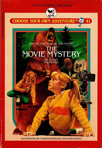 MOVIE MYSTERY (Choose Your Own Adventure Series #41) by Susan Saunders (1987)