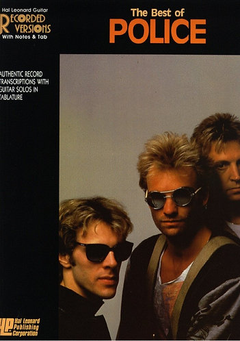 Best of the Police (Guitar Recorded Versions) - Tab Songbook Sheet Music [PDF]