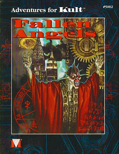 Fallen angels: Adventures in New York (Kult Roleplaying Game Adventure, #5002)