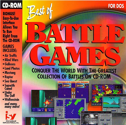 Best of Battle Games (PC DOS ROM Video Game Collection) 18 Classic Games [ISO]