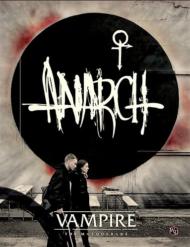 VAMPIRE THE MASQUERADE 5E (RPG Sourcebook) ANARCH [PDF eBook]