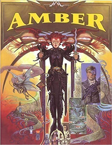 Amber: Diceless Role-Playing (RPG) Game System by Erick Wujcik [eBook]