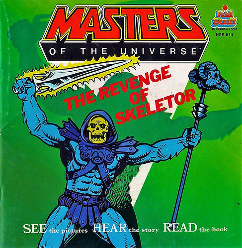 The Revenge of Skeletor (Masters of the Universe) He-Man [Digital Book & Record]