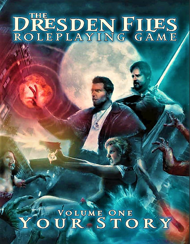 The Dresden Files RPG: Your Story (Volume 1) RPG Adventure Guide [Digital]