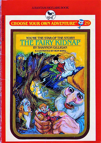 The Fairy Kidnap (Choose Your Own Adventure Series) by Shannon Gilligan [eBook]